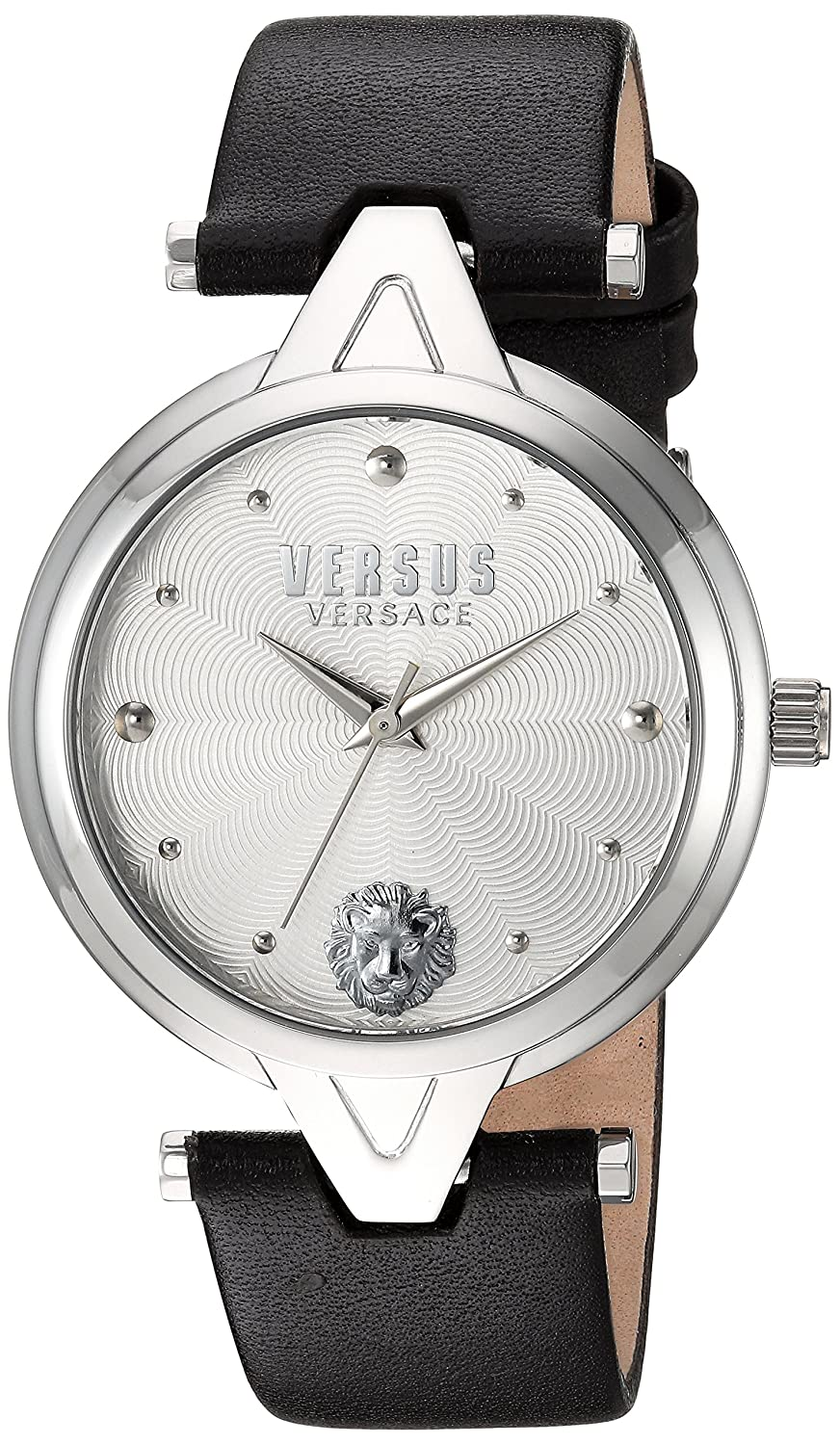 Versus by Versace Women 's ' V versus ' QuartzステンレススチールandレザーCasual Watch , Color : Brown ( Model : sci070016 ) B0192A37GW
