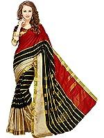 Glory Sarees Cotton Silk Saree (Jari117_Red)