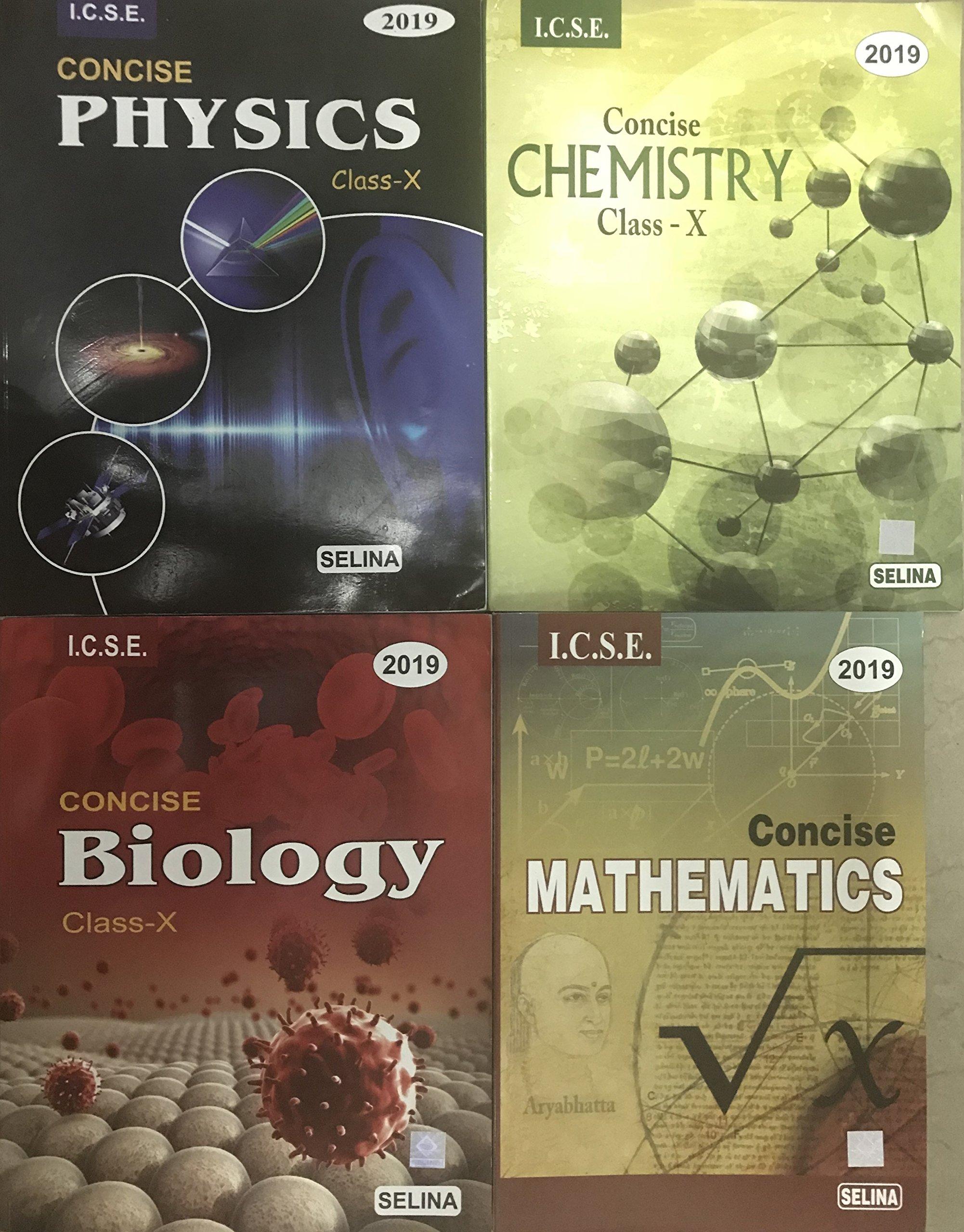 Icse 10th Science Book