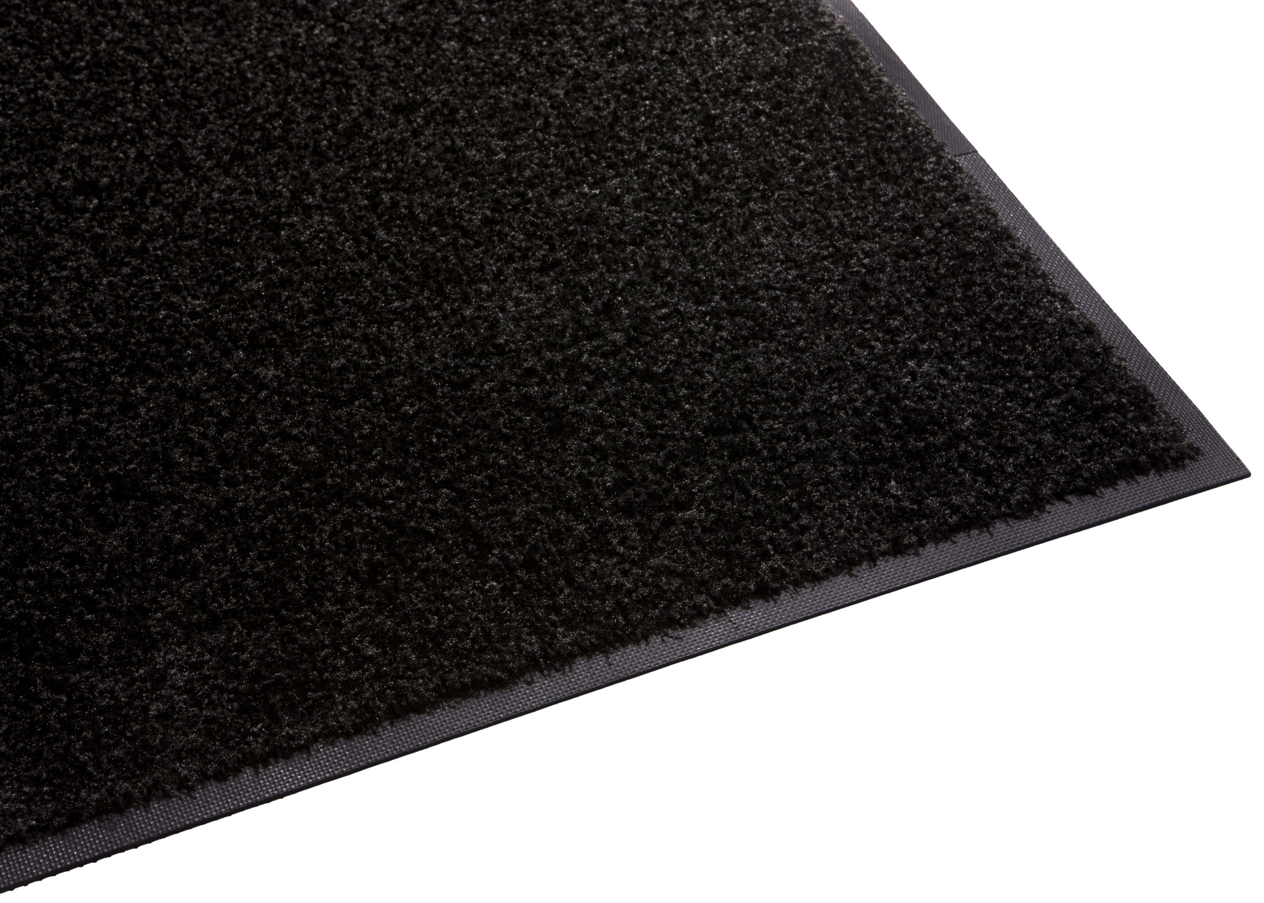 Guardian Platinum Series Indoor Wiper Floor Mat, Rubber with Nylon Carpet, 4'x10', Black by Guardian