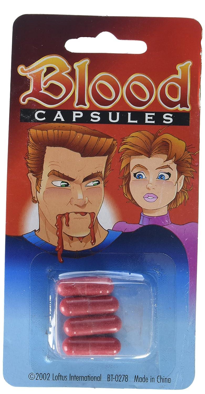 Blood Capsules 4 capsules Getting Fit 099996008084