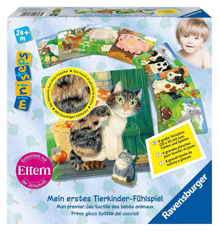 Ravensburger ministeps 04623 - Mein Tierkinder-Fühlspiel Kinderspiele Sonstige Kinderspiele