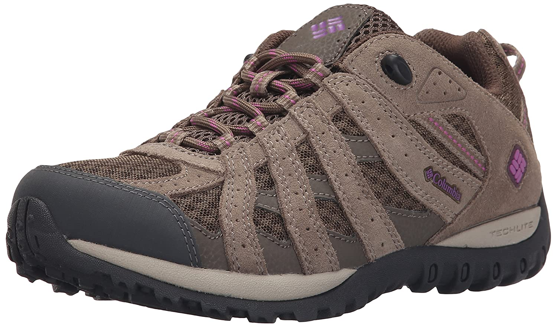 Columbia Women's Redmond Trail Shoe B01015PWKG 5 B(M) US|Mud/Razzle