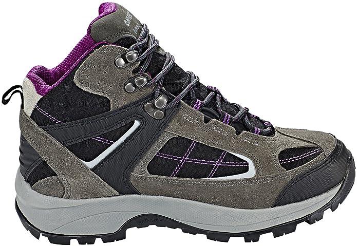 Hi-Tec Altitude VI Lite Mid i WP Shoes Women charcoal/black/amaranth UK 4 i6reNN