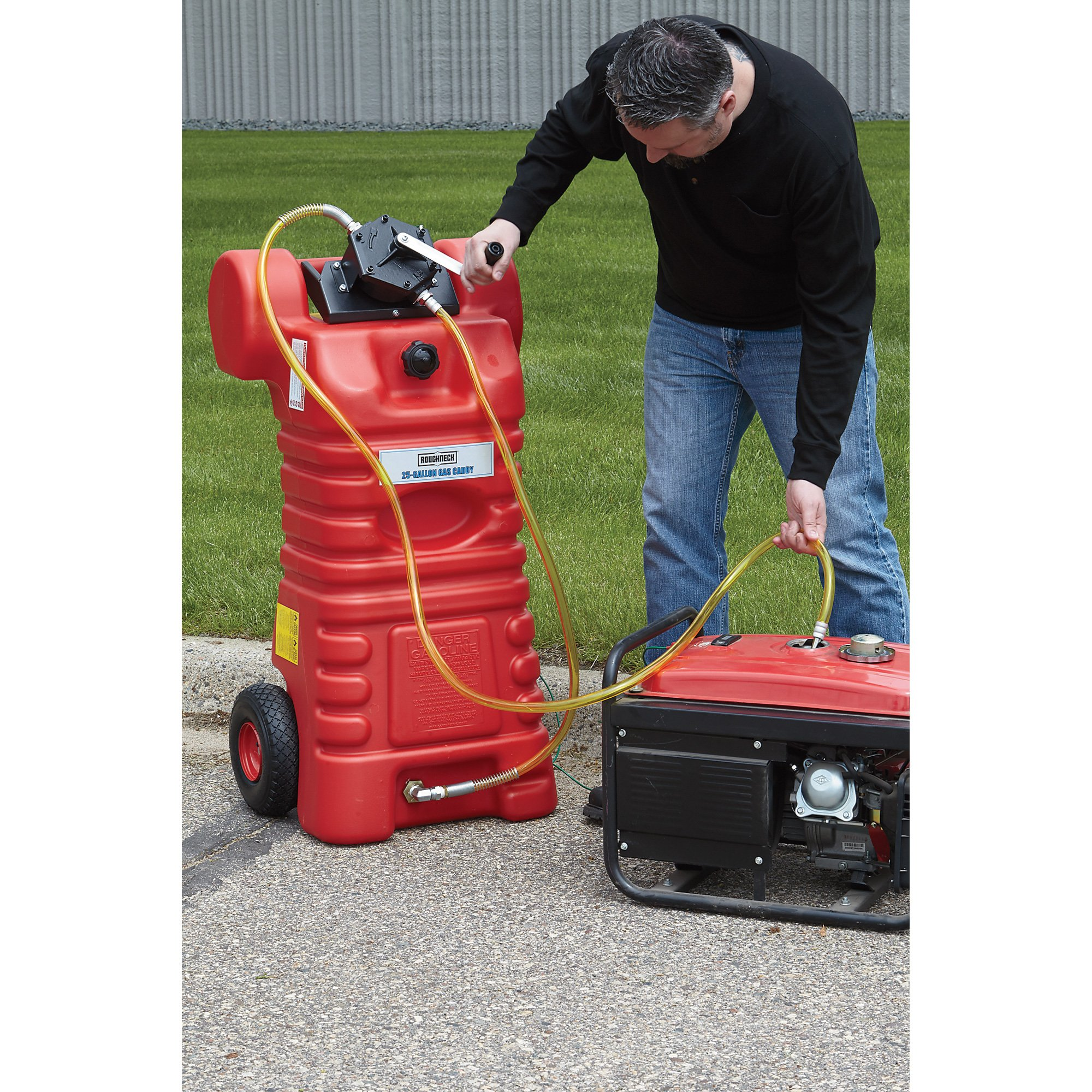 Roughneck Two-Way Rotary Pump Kit - Delivers 1-Gal. Per 12 Revolutions by Roughneck (Image #2)