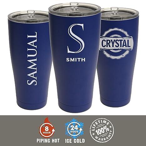 amazon com custom personalized 30 oz sic cups tumbler engraved