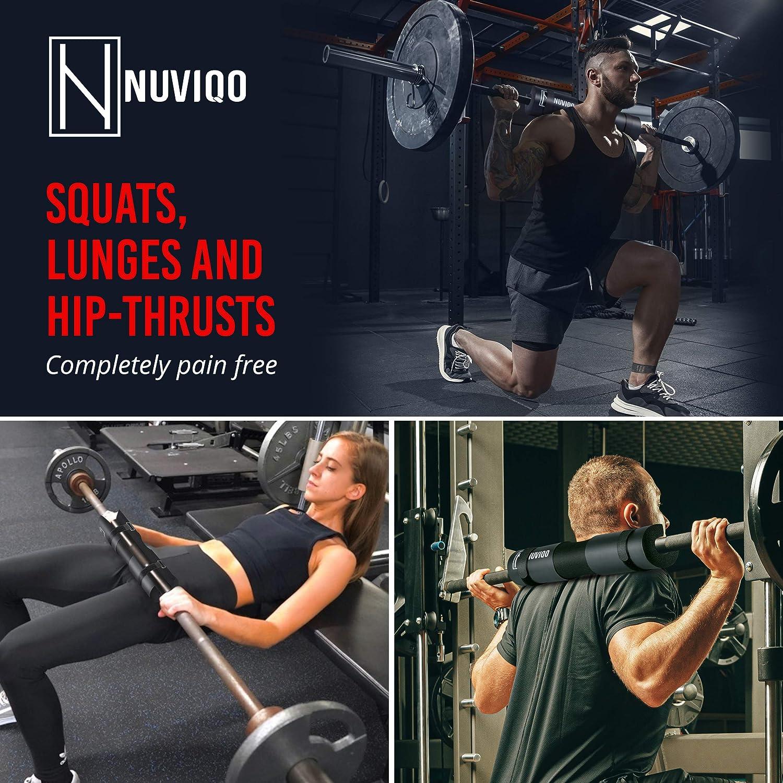 Barbell Bar Squat Pad Weight Gym Shoulder Neck Sponge Support Protector Li H4#S