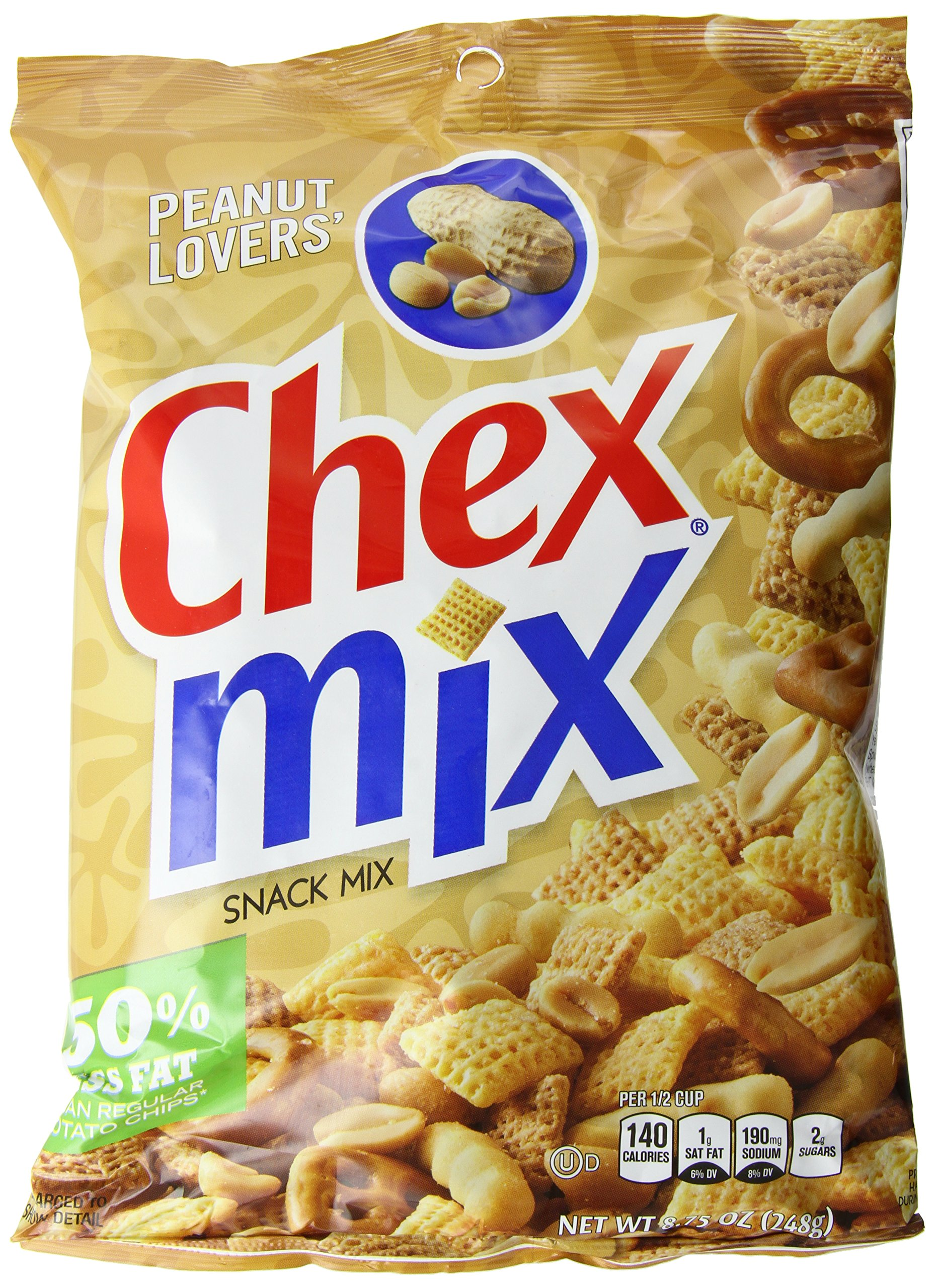 Chex Mix Peanut Lovers' Snack Mix 8.75 oz. Bag