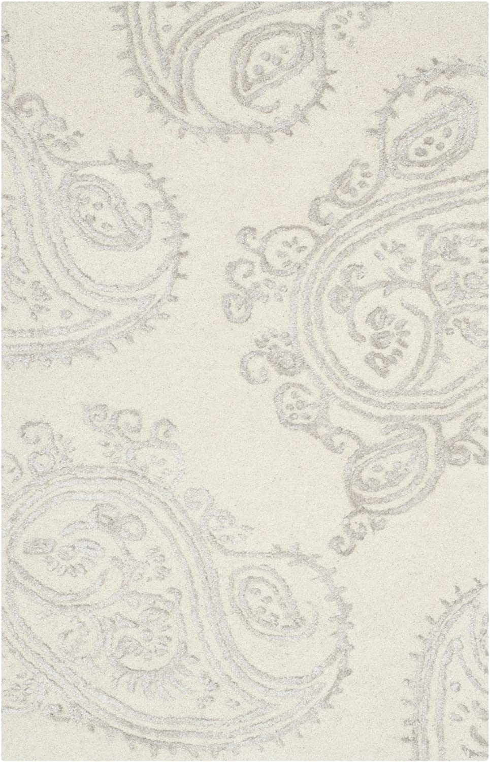 LARGE GREY PAISLEY PATTERNED SOFT CHEAP BUDGET RUG RUNNER SALE SMALL