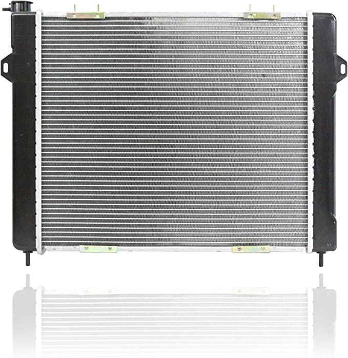 CU1394 Fits 93-97 Jeep Grand Cherokee 5.2L V8 New Replacement Aluminum Radiator