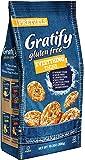 Gratify Gluten Free Pretzel Thins Everything Vegan Gf Pretzel Crisps, 10.5oz Bag (Pack Of 6)