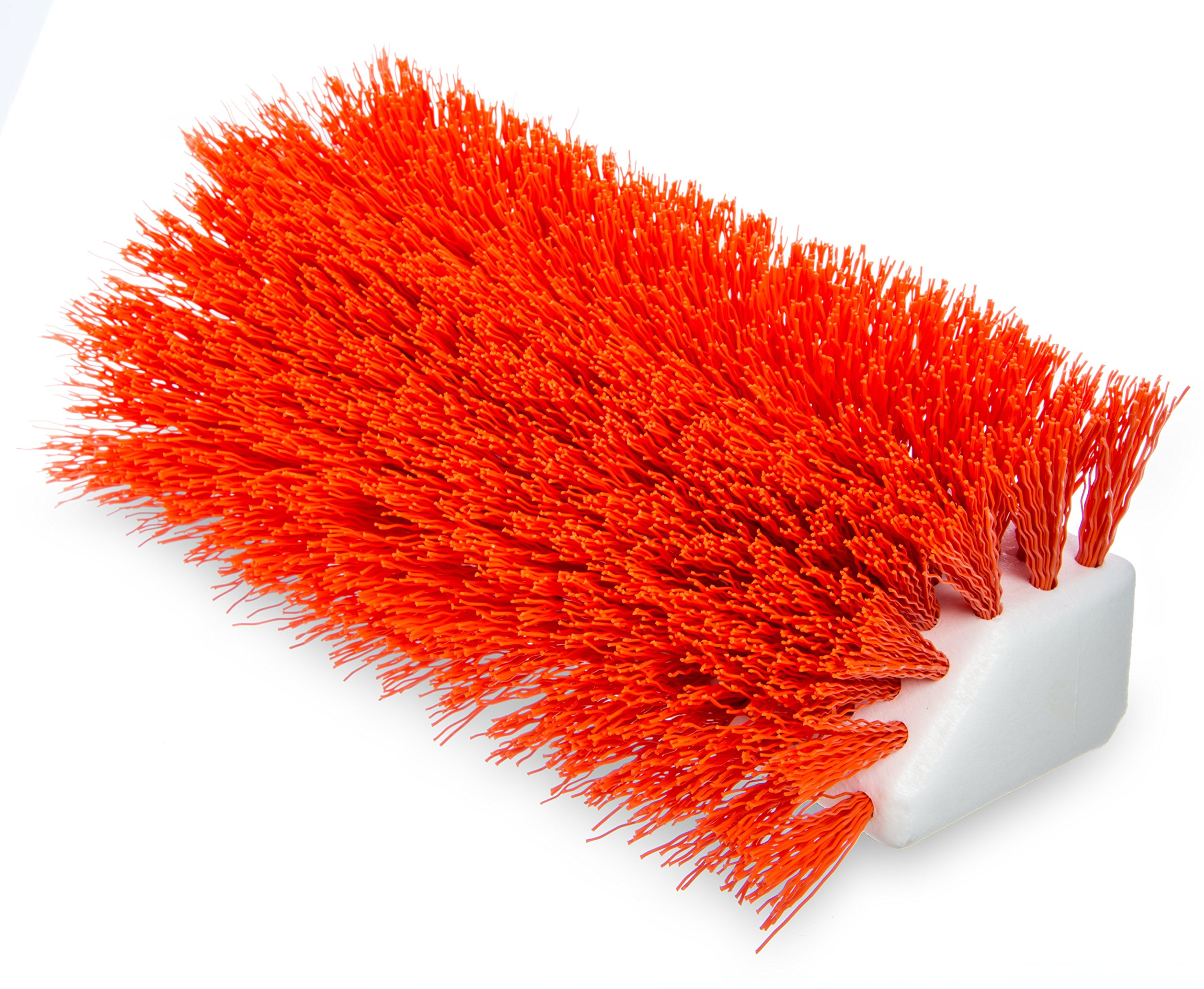 Carlisle 4042324 Hi-Lo Floor Scrub Brush, Orange (Pack of 12)