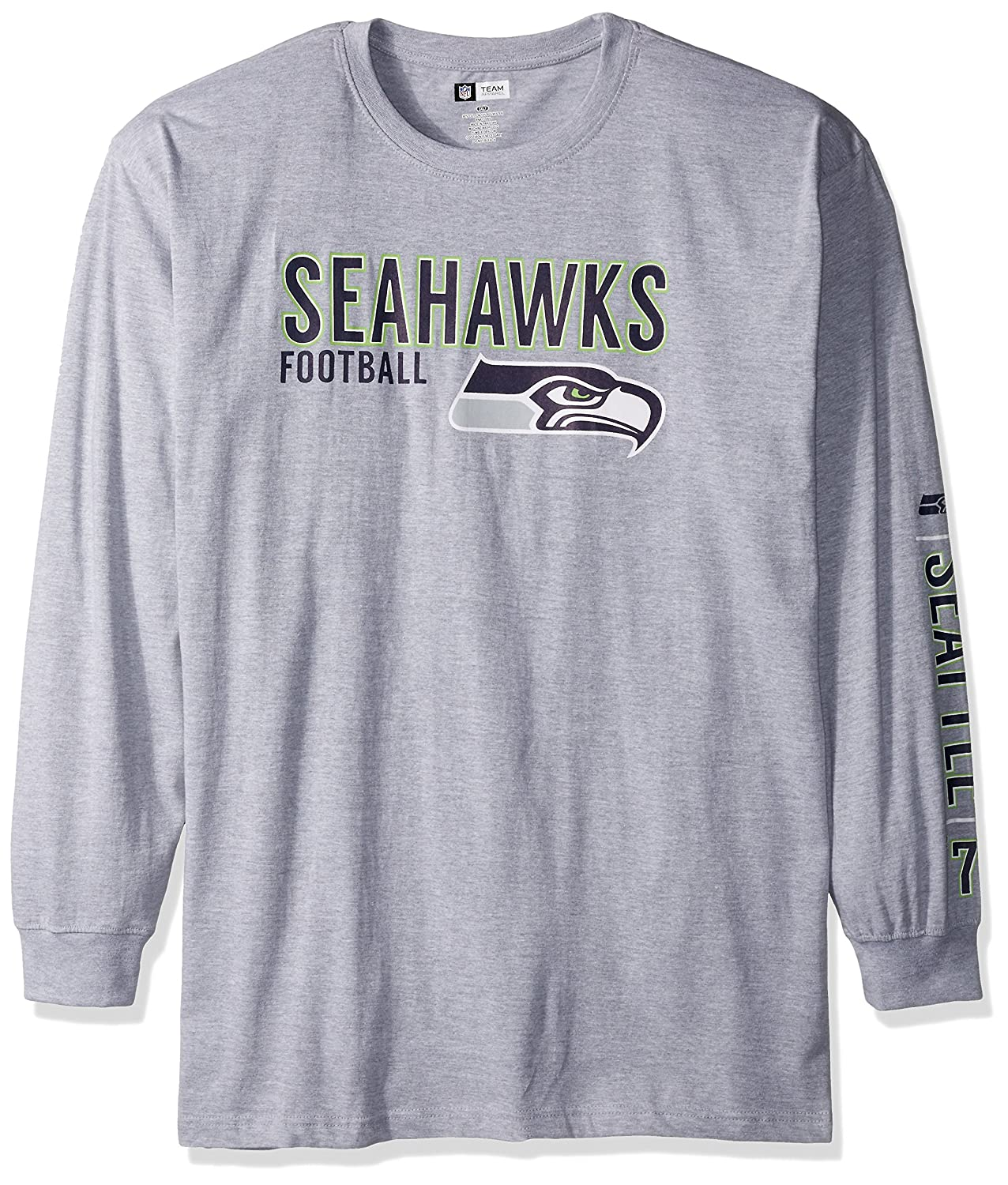 Amazon.com   NFL Long Sleeve Two Hit Screen Tee   Sports   Outdoors 6bc7c607c