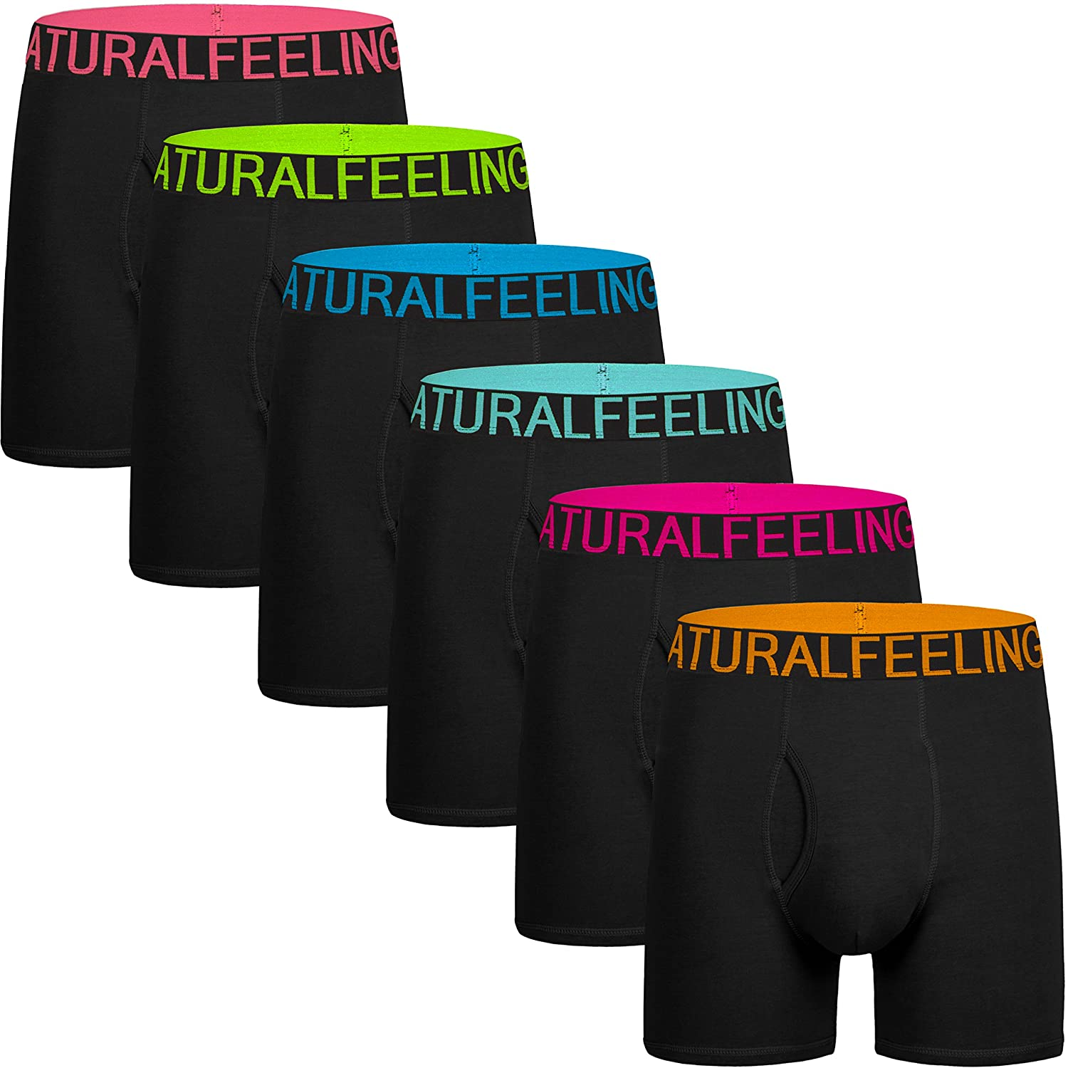 5257be41822e ... boxer briefs; Natural cotton is irresistible to touch, lightweight and  comfortable; 5% Spandex makes men's boxer briefs strecheier then pure cotto