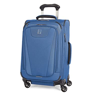 Travelpro Maxlite 4 Expandable 21 Inch Spinner Suitcase, Blue