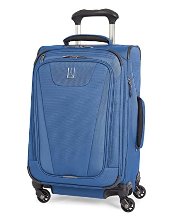 71a7fd05776 Amazon.com | Travelpro Maxlite 4 Expandable 21 Inch Spinner Suitcase, Blue  | Carry-Ons