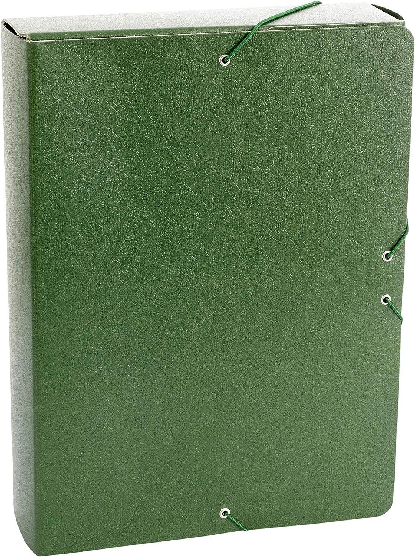 Carpeta Proyecto Gofrado Resistente con Gomas Elasticas Grosor 7cm Color Amarillo
