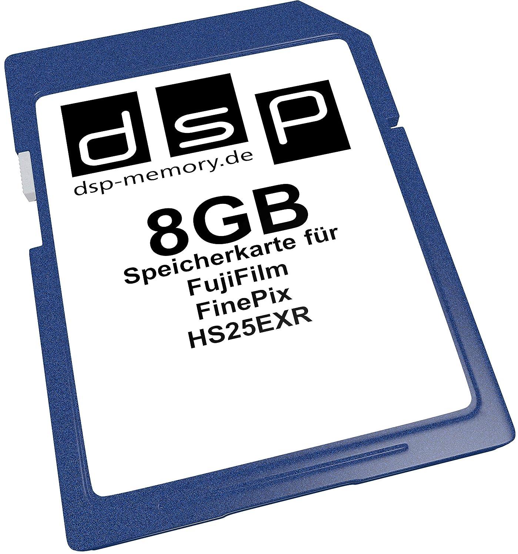 TALLA 8 GB. DSP Memory Tarjeta de memoria para Fujifilm FinePix HS25EXR 8 GB