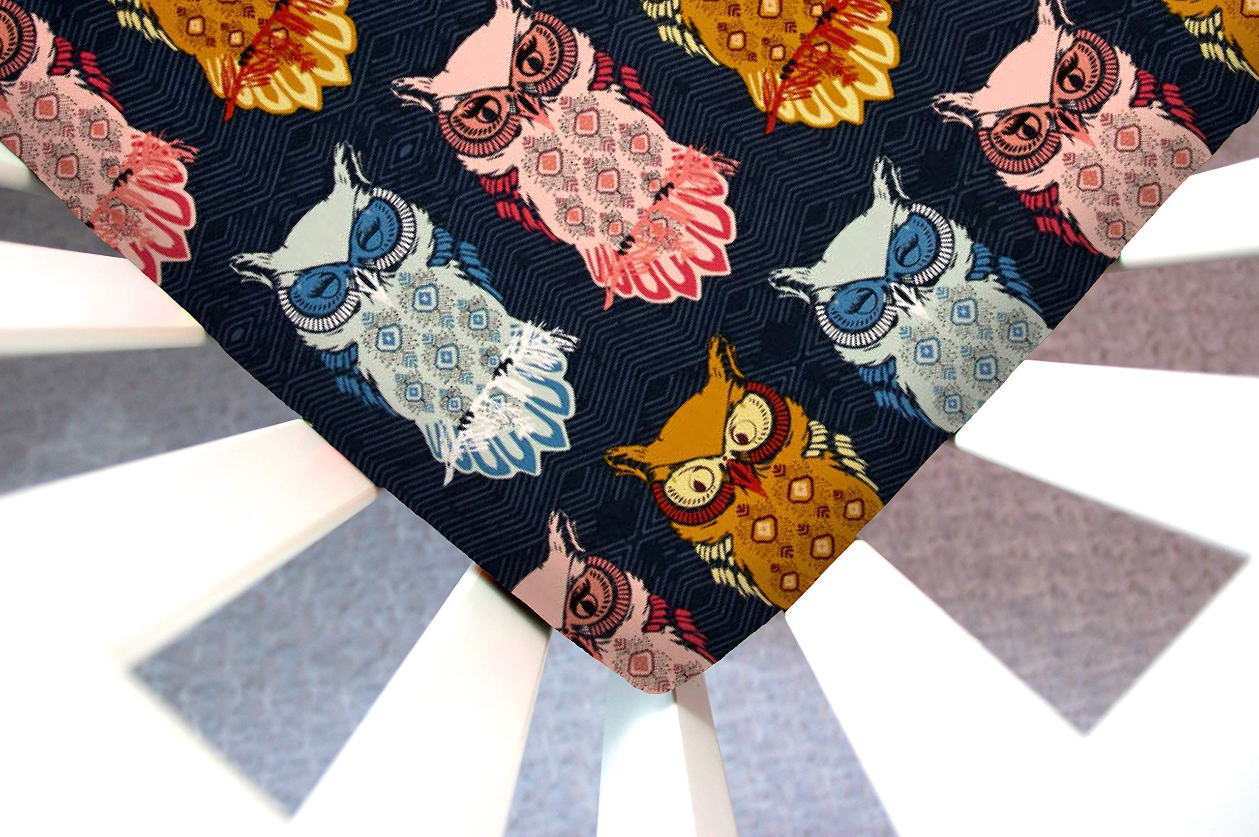 Little Moose by Liza Handmade Sheet Made to Fit IKEA Toddler in Bird of Night (Owls). This Sheet was Not Created or Sold by IKEA. by Little Moose By Liza LLC