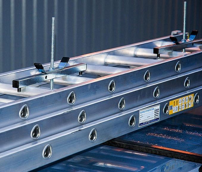 Horizon - Cepos para escaleras (para transportar la escalera de forma segura, incluye candado): Amazon.es: Bricolaje y herramientas
