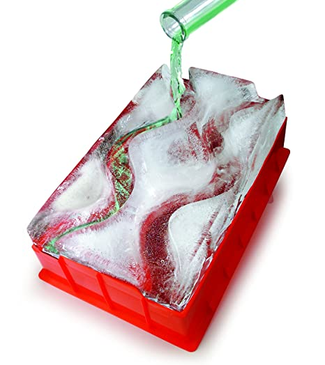 Barbuzzo Ice Luge Double Track Just Add Water Pop In The Freezer And Within 24 Hours You Have Your Own Frozen Luge Chill Your Favorite Spirits