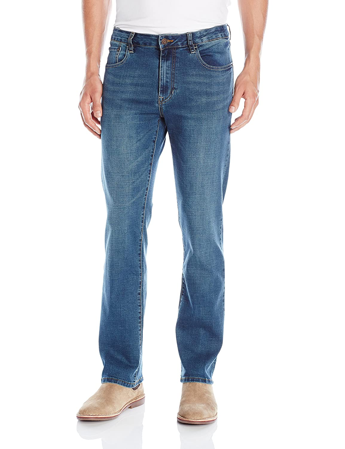 Izod Men's Comfort Stretch Relaxed Fit Jean Izod Mens Denim I34JN18-427