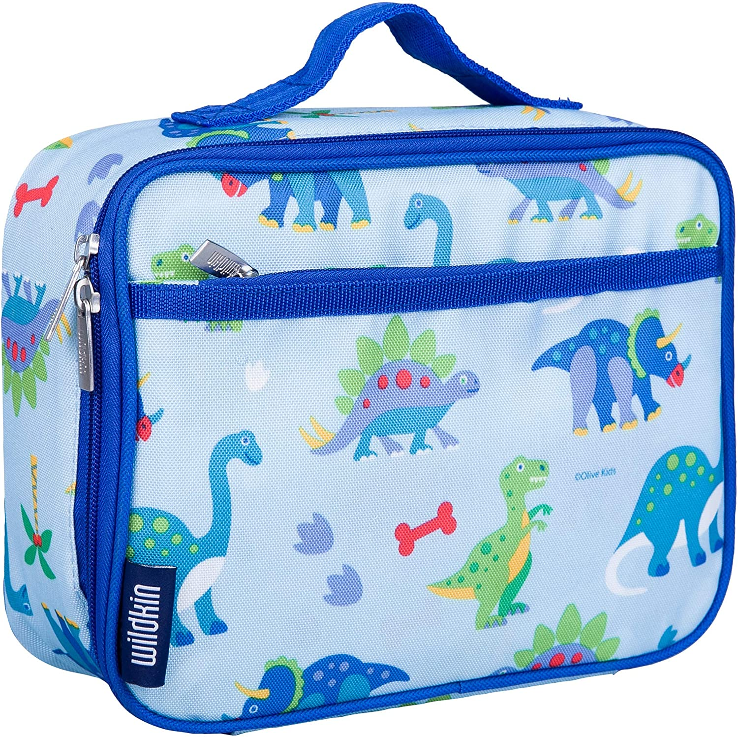 Personalised Dinosaur Dino Boys Lunch Box Lunch Cooler Sandwich School Bag