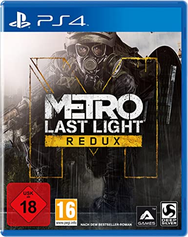Deep Silver Metro: Last Light Redux (PS4) Básico PlayStation 4 ...