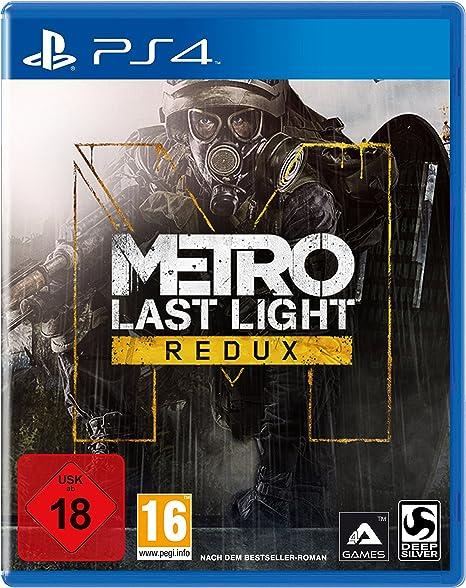 Deep Silver Metro: Last Light Redux (PS4) Básico PlayStation 4 Alemán vídeo - Juego (PlayStation 4, FPS (Disparos en primera persona), M (Maduro)): Amazon.es: Videojuegos