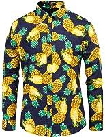 Paul Jones Men's Long Sleeve Shirts Button Down Slim Fit Fashion Solid 9 Colors CL5249