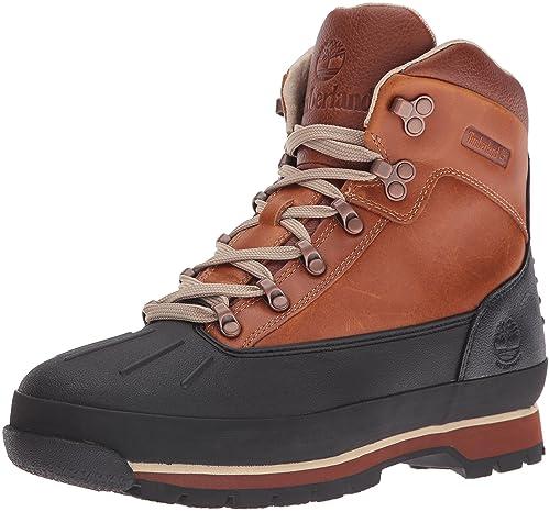 8075e64e47f Timberland Men's Euro Hiker Shell Toe Waterproof Winter Boots ...