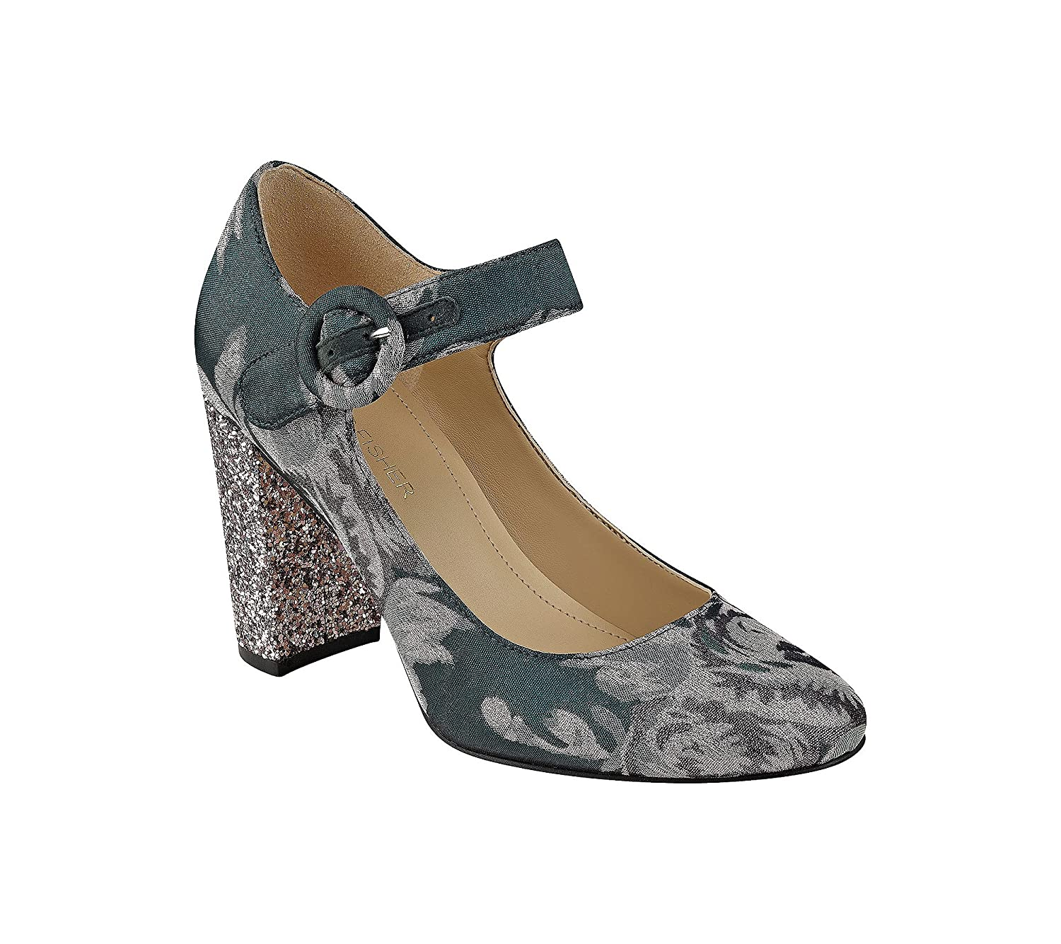 Marc Fisher Women's Shaylie Pump B01MQW3VAD 5.5 B(M) US|Pink Floral