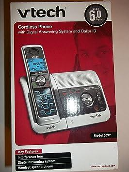 Vtech 6032 DECT 6.0 Teléfono inalámbrico con Sistema de Respuesta Digital y identificador de Llamadas: Amazon.es: Electrónica