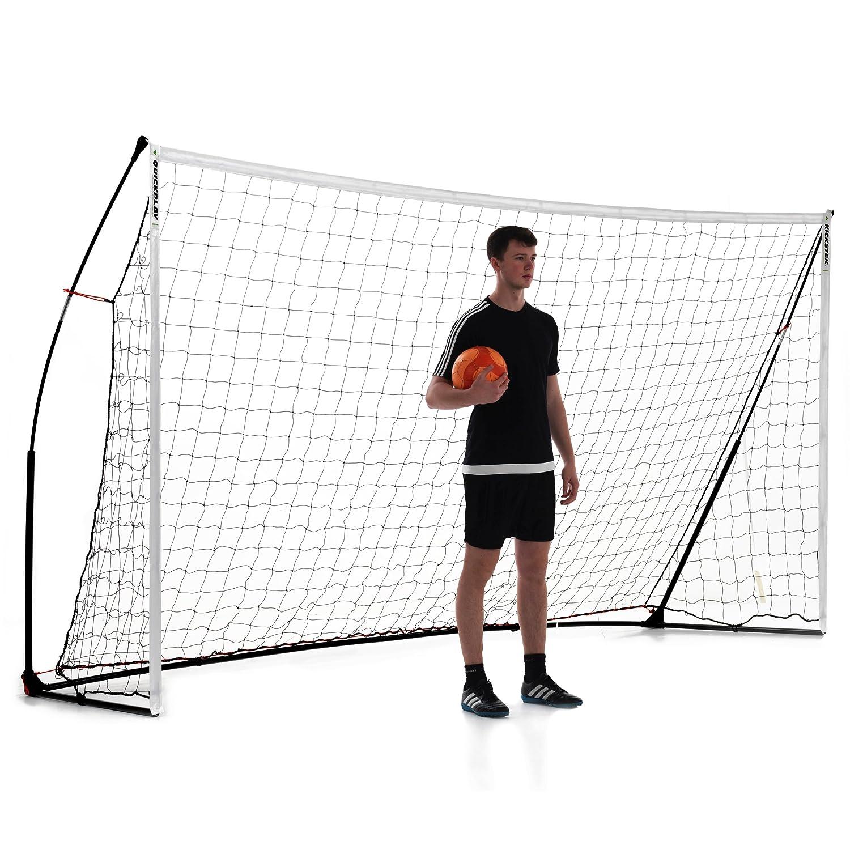 クイックプレイ ポータブル サッカーゴール 3.6m×1.8m 組み立て式ゴール 12KSR B00F38TC3U