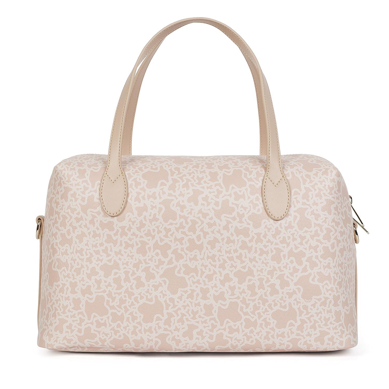 Tous Bowling Mediano Kaos Mini, Bolso bolera para Mujer, Beige (Rosa) 13x20x35 cm (W x H x L): Amazon.es: Zapatos y complementos