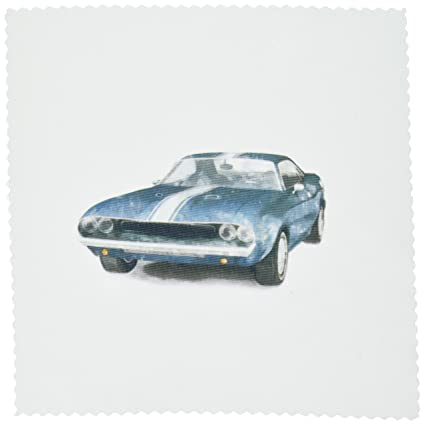Amazon Com 3drose Qs 40591 3 Classic Muscle Car Quilt Square 8 By
