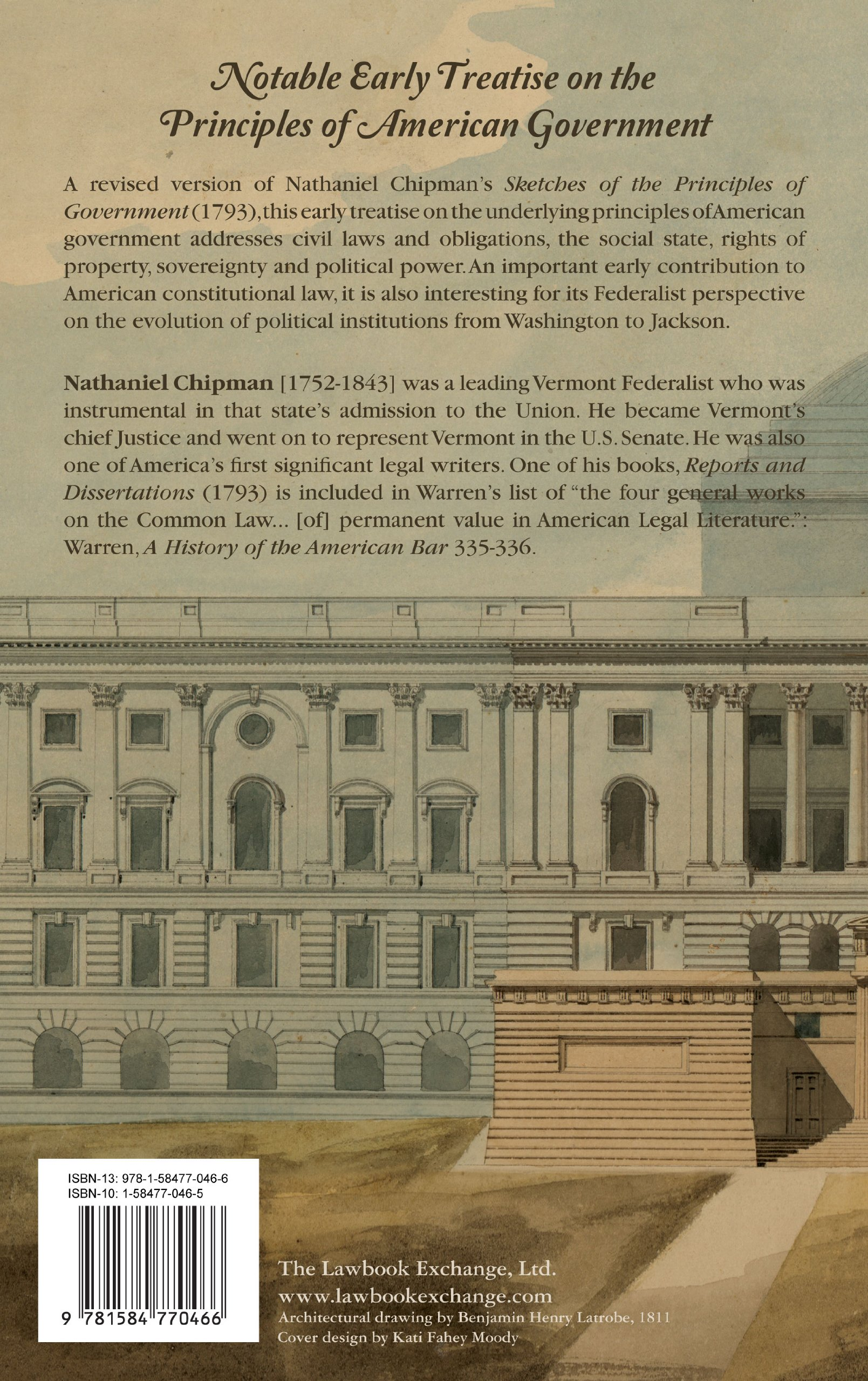 Principles Of Government A Treatise On Free Institutions Including The Constitution United States Nathaniel Chipman 9781584770466 Amazon