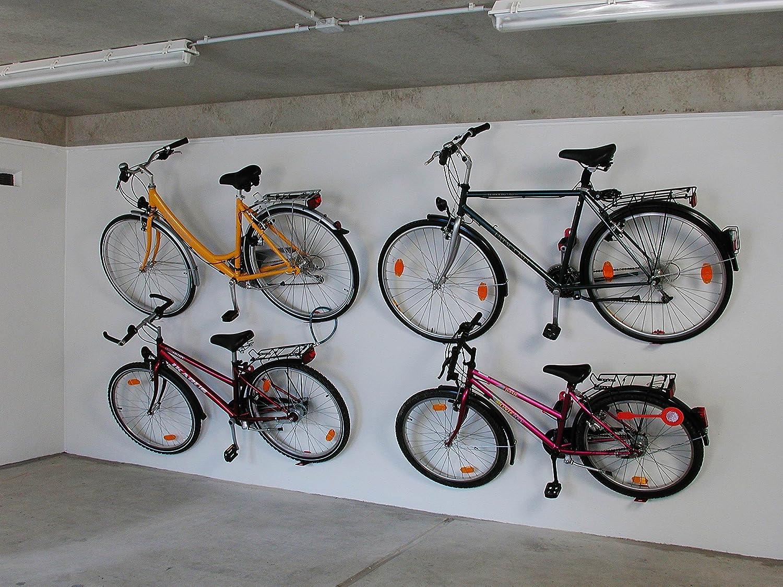 König Werbeanlagen 3510 – Soporte de pared Pedal para 1 bicicleta ...