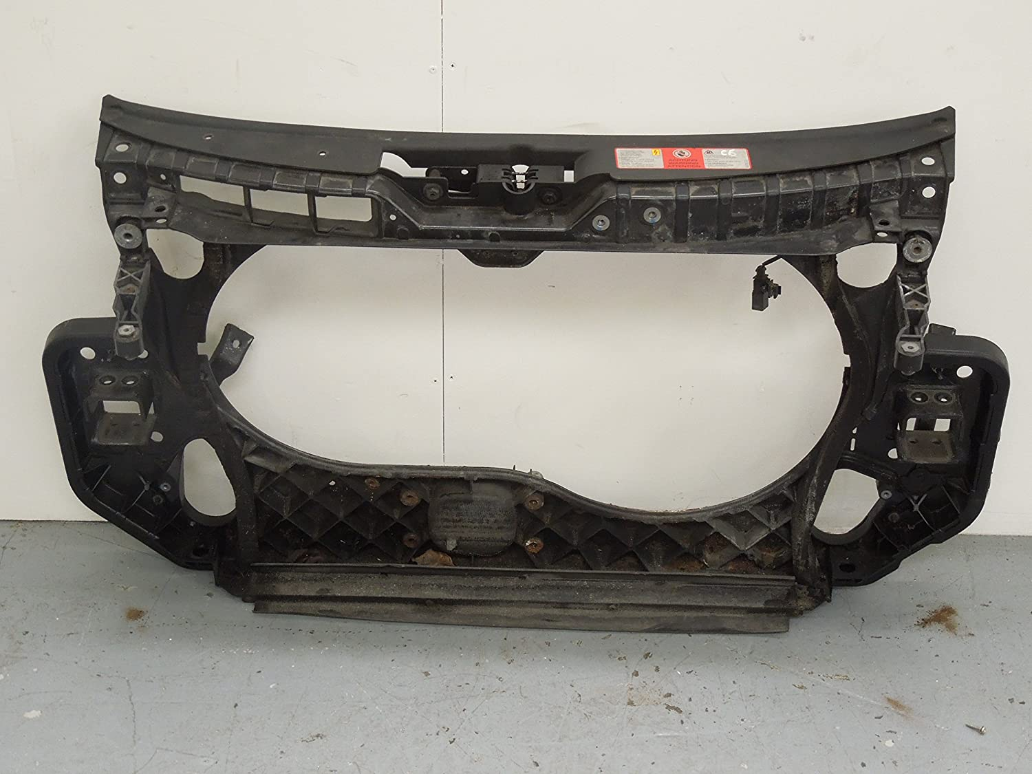 Audi A6 C6 Front Slam Panel Radiator Support