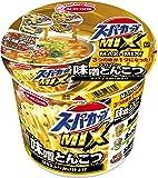エースコック スーパーカップMIX スパイシー味噌とんこつラーメン MAXふりかけ仕上げ 127g×12個入り (1ケース)