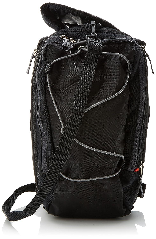VAUDE Silkroad borse posteriori bici - Comoda borsa per bicicletta con 2 scomparti laterali, 1 tasca per la bottiglia e molte altre - Pratica borsa portapacchi per le escursioni in bici 10866