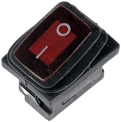 amazon com dorman 84823 waterproof mini rocker switch automotive  dorman 84823 waterproof mini rocker switch