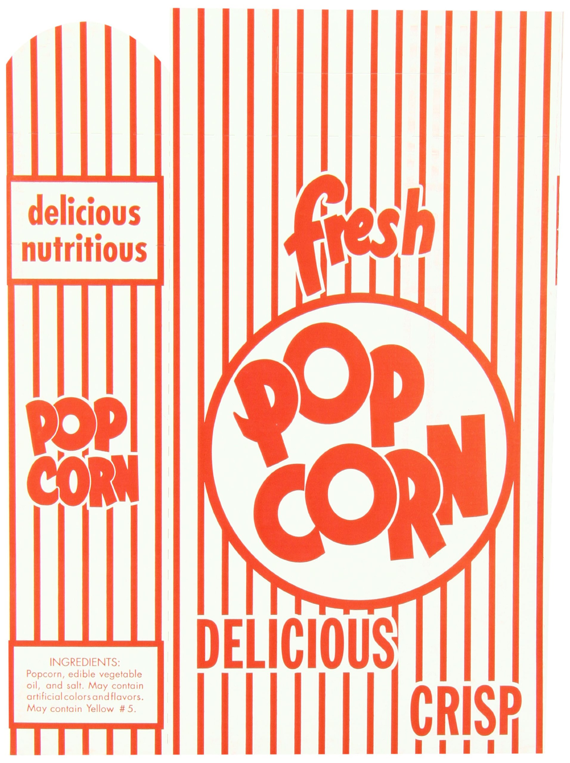 Snappy Popcorn 3E Close-Top Popcorn Box, 100/Case, 6 Pound by Snappy Popcorn (Image #4)