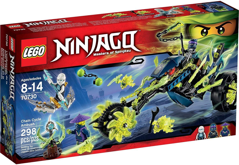 LEGO Ninjago 70730 Chain Cycle Ambush - Masters of Spinjitzu 2015