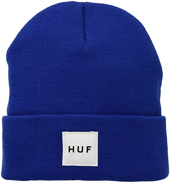 a82f581c255a HUF Men's Box Logo Beanie, Royal, One Size: Amazon.co.uk: Clothing