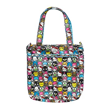 e024185d84d Amazon.com   JuJuBe Be Light Everyday Lightweight Zippered Tote Bag, Hello  Kitty Collection - Hello Friends   Baby