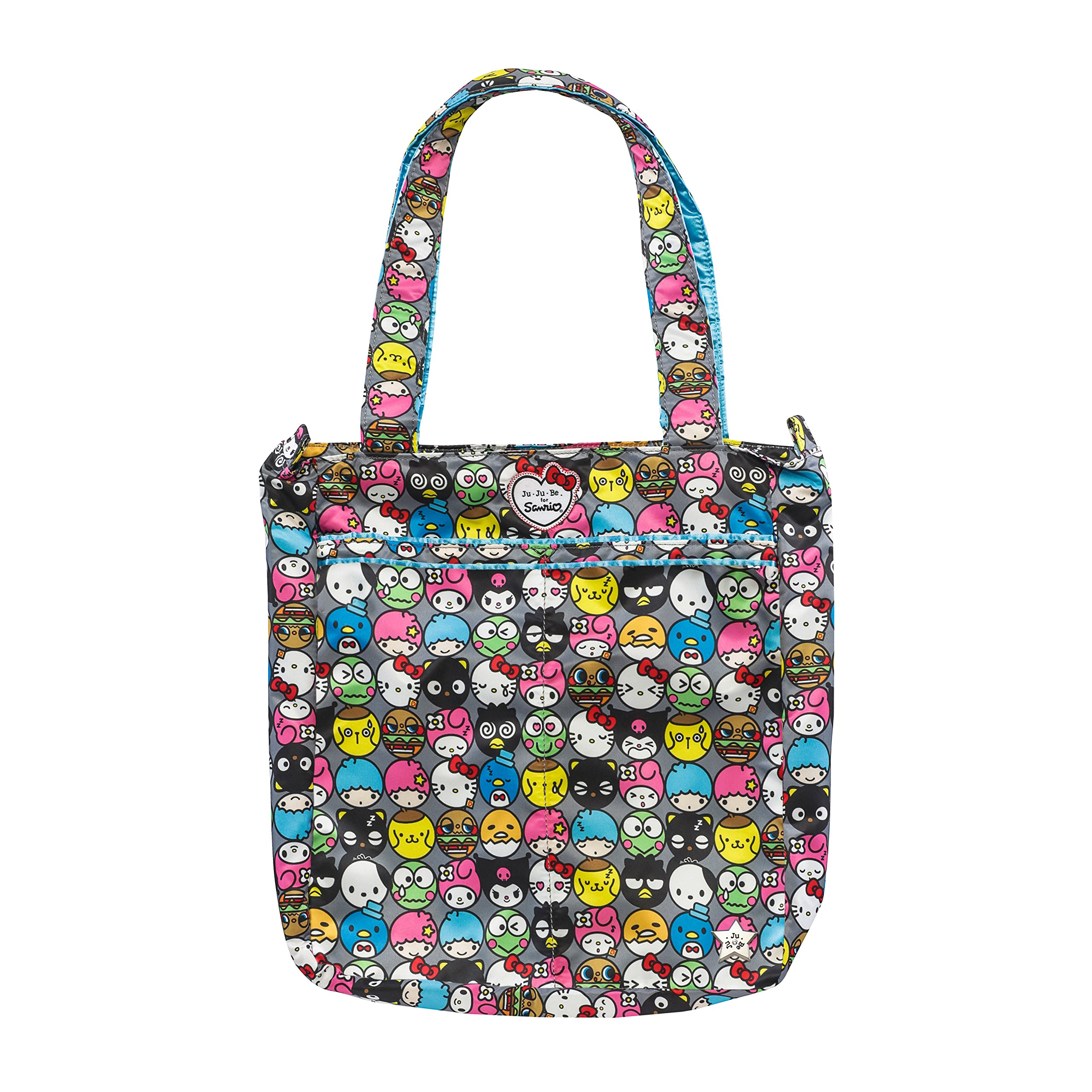 4661e92cbbd JuJuBe Be Light Everyday Lightweight Zippered Tote Bag, Hello Kitty  Collection - Hello Friends