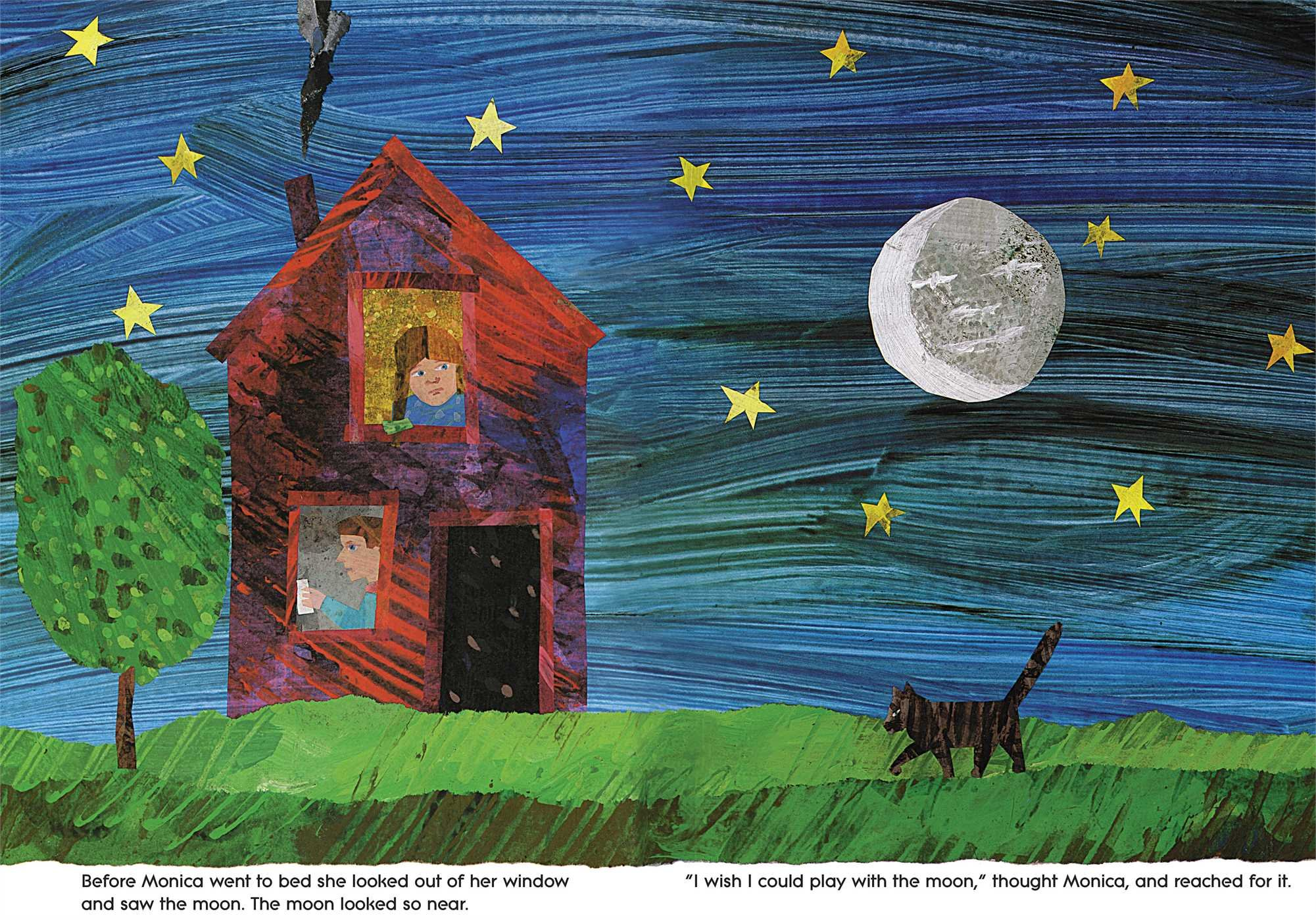Papa, Please Get the Moon for Me: Book & CD (The World of Eric Carle) by Little Simon (Image #3)
