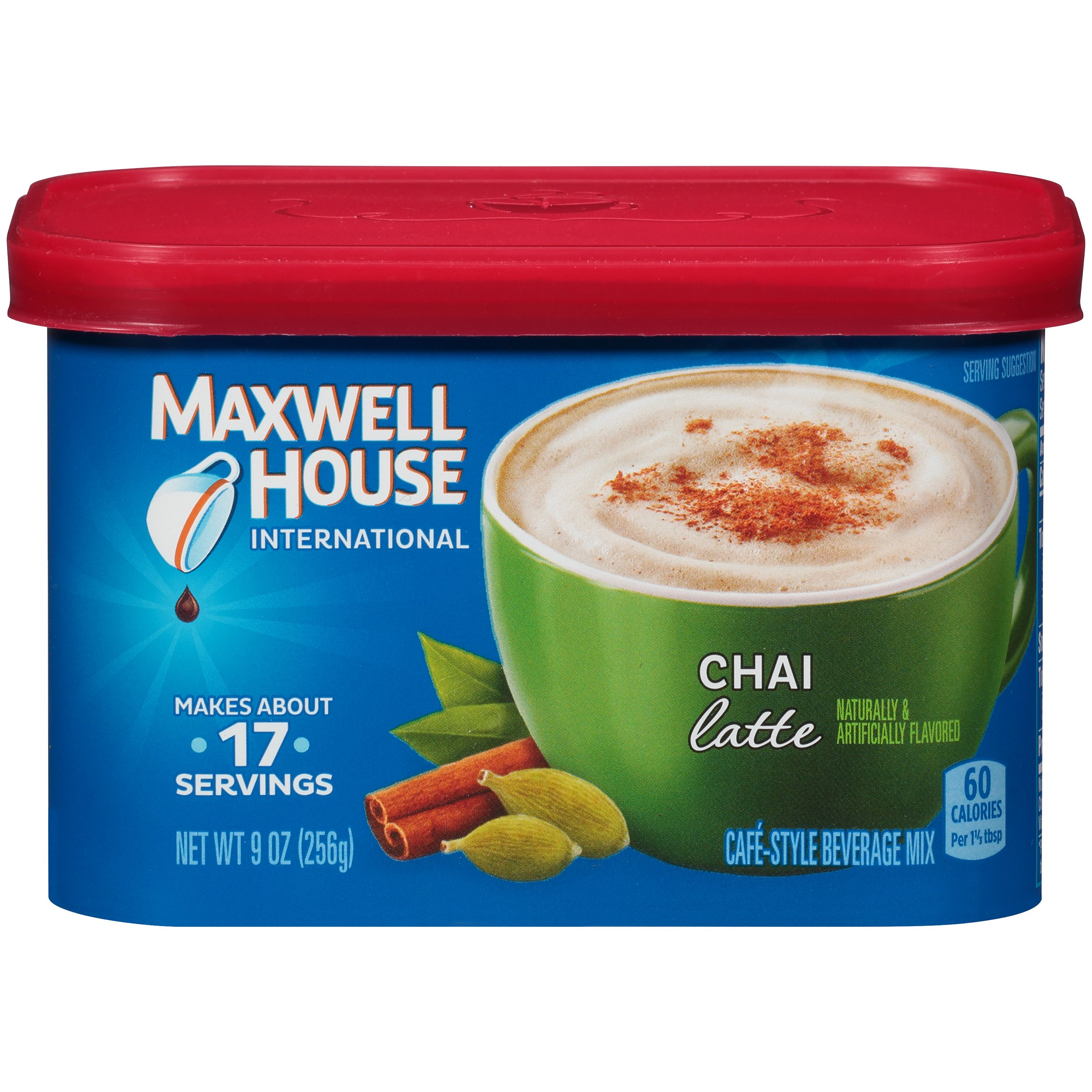 Maxwell House International Cafe Chai Latte Instant Coffee (36 oz Canisters, 4-Count) by Maxwell House