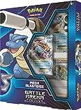 Pokemon POK82403 TCG: Battle Arena Decks Charizard X and Mega Blastoise, one at Random